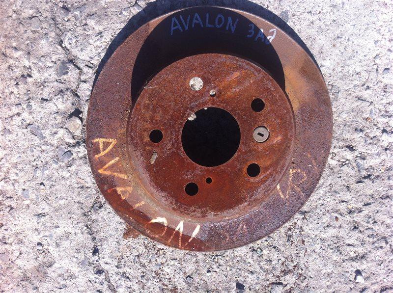 Тормозной диск Toyota Avalon 10 задний
