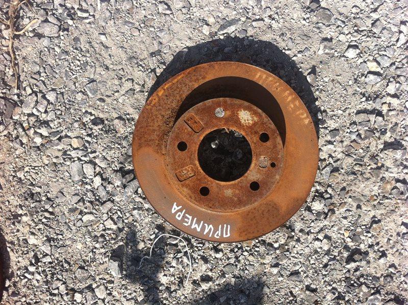 Тормозной диск Nissan Primera 11 задний