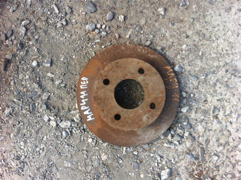 Тормозной диск Nissan March 11 передний