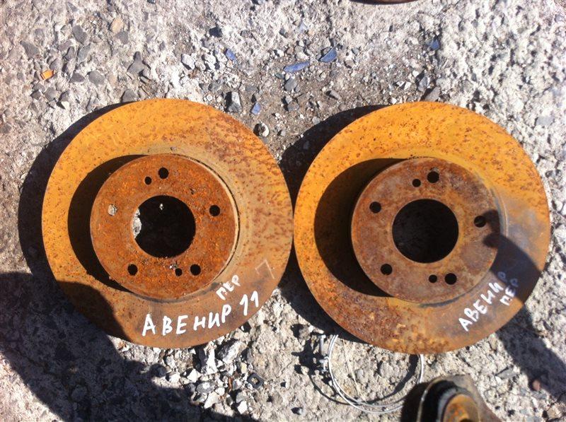 Тормозной диск Nissan Avenir 11 передний