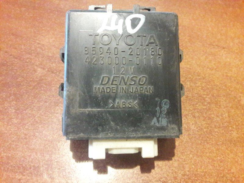 Блок управления стеклоочистителем Toyota Premio ZZT240, ZZT245, AZT240, NZT240 1NZFE, 1ZZFE, 1AZFE 2003