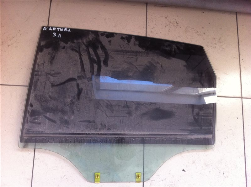 Стекло двери Chevrolet Captiva C140 2012 заднее левое