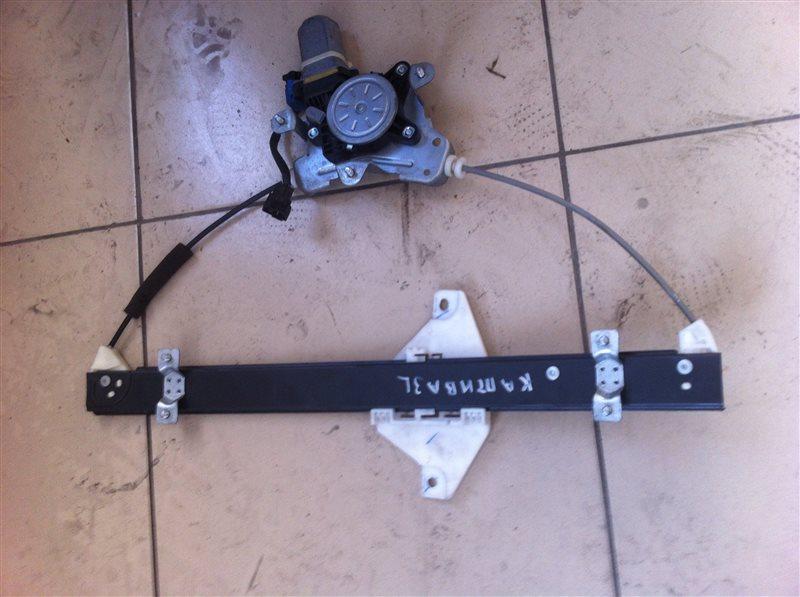 Стеклоподъемный механизм Chevrolet Captiva C140 2012 задний левый