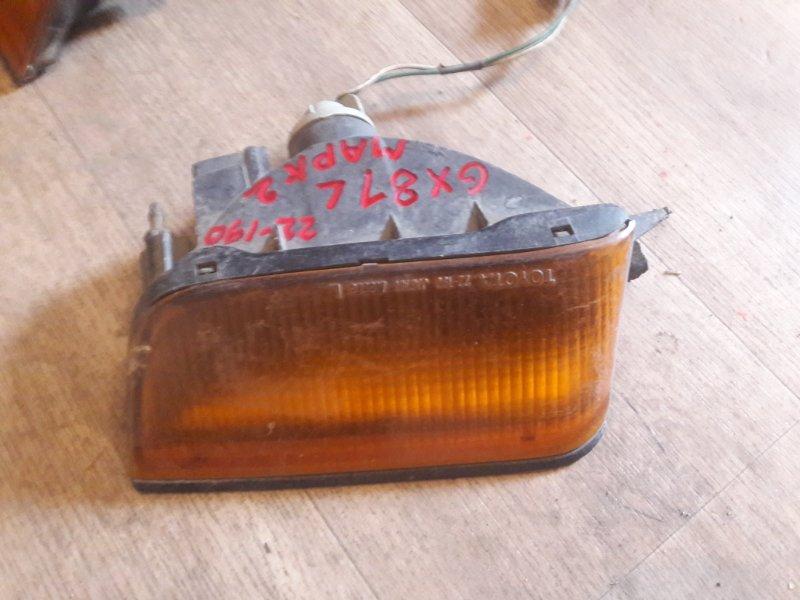 Повторитель в бампер Toyota Mark Ii GX81, GX80 1GFE 1992
