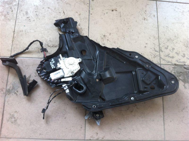 Стеклоподъемный механизм Volkswagen Tiguan 5N2 2014 задний левый
