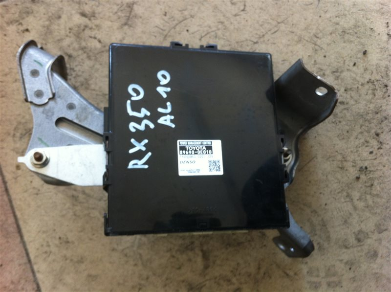 Блок управления мощностью Lexus Rx350 AGL10 2011