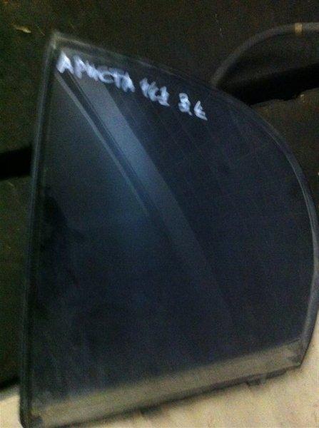 Форточка двери Toyota Aristo 161 2001 задняя левая