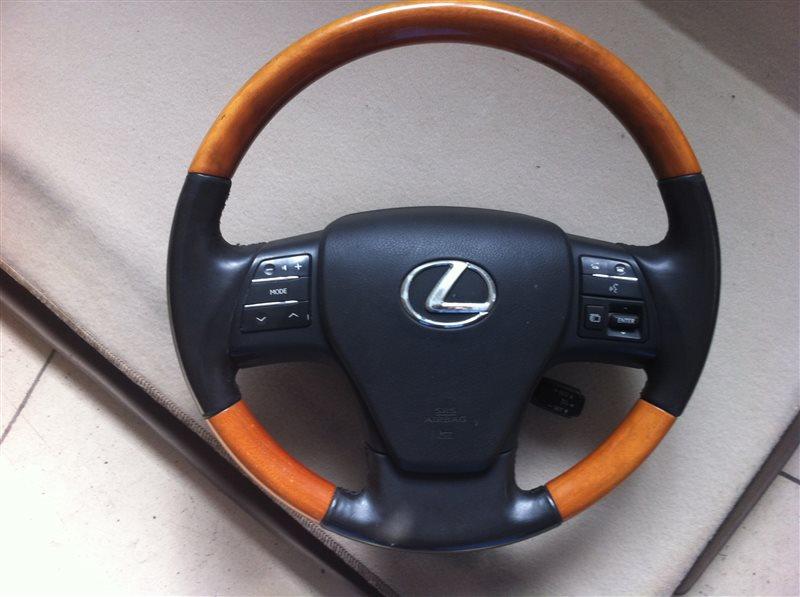 Airbag подушка безопасности на руль Lexus Rx350 AGL10 2011
