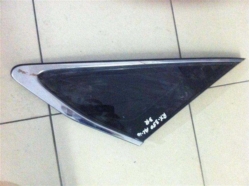 Стекло собачника Lexus Rx350 AGL10 2GR заднее правое