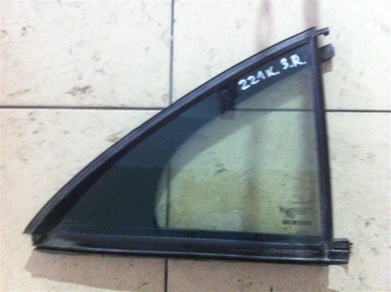 Форточка двери Mercedes-Benz S-Class W221 задняя правая