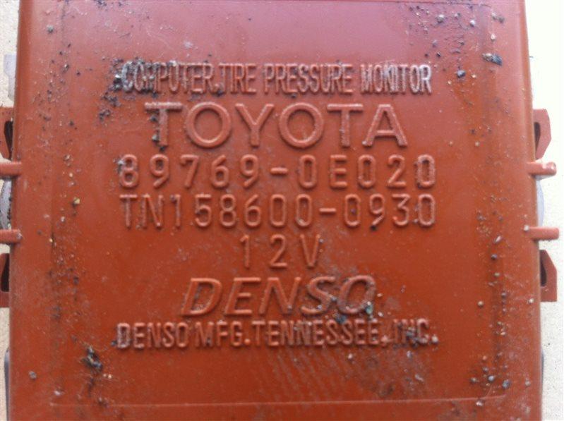 Датчик давления шин Lexus Rx350 AGL10 2GR