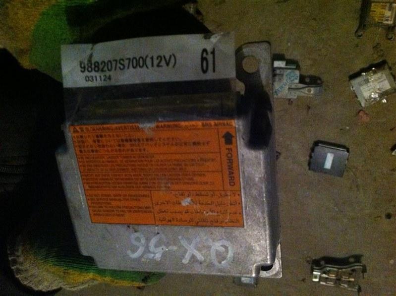 Блок управления airbag Infiniti Qx56 60