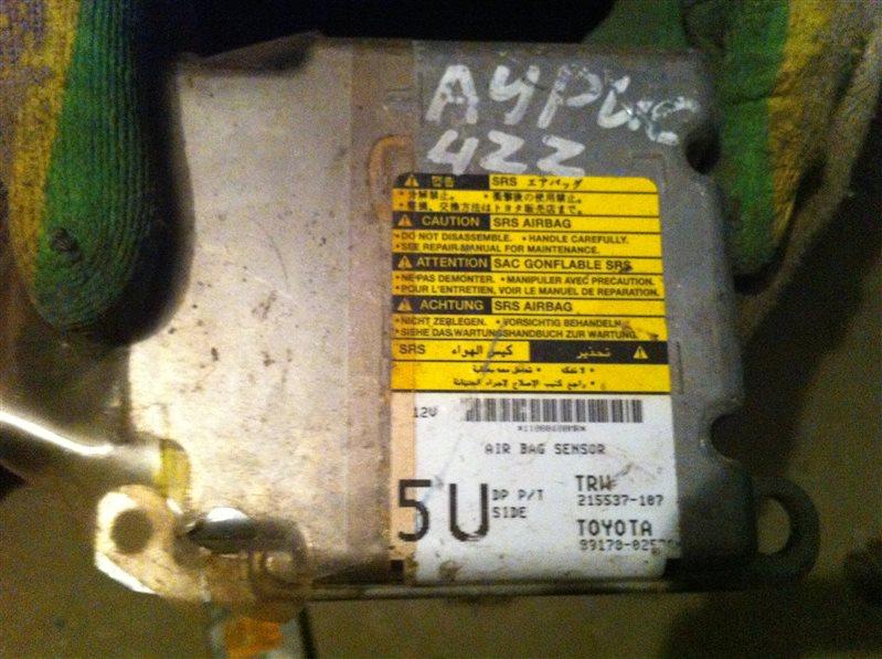 Блок управления airbag Toyota Auris 150 4ZZ