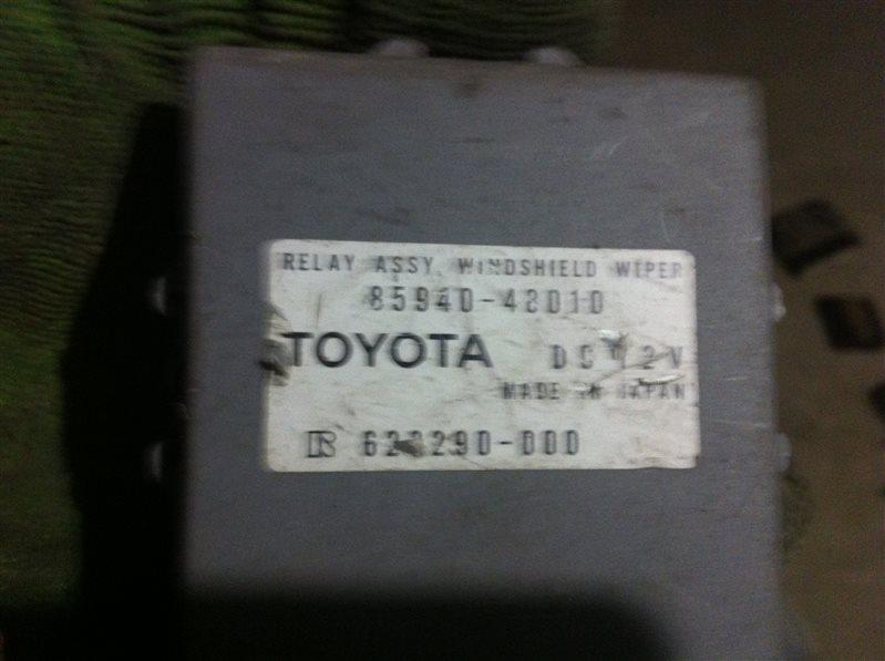 Блок управления стеклоочистителем Toyota Camry ACV30
