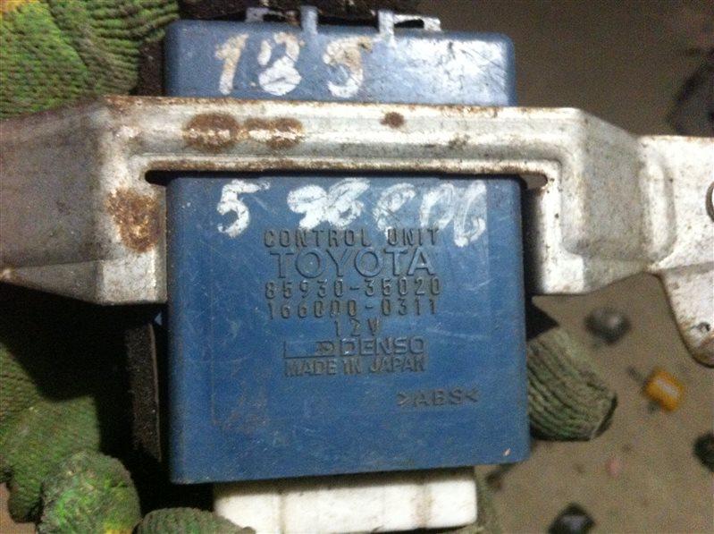 Блок управления стеклоподъемника Toyota Hilux Surf 185