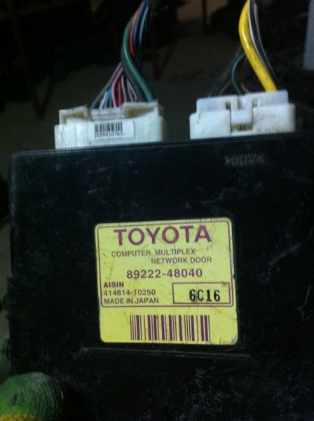Блок управления дверьми Lexus Rx330 30