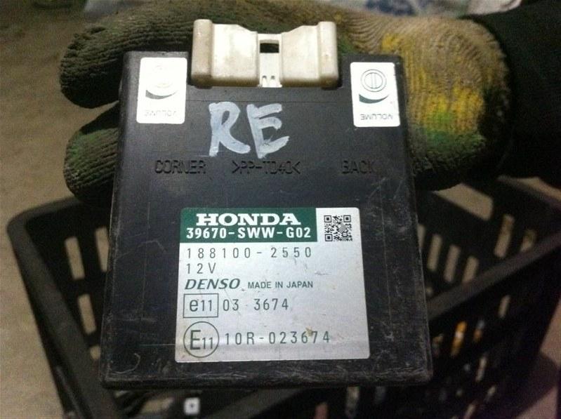 Блок управления парктрониками Honda Crv RE