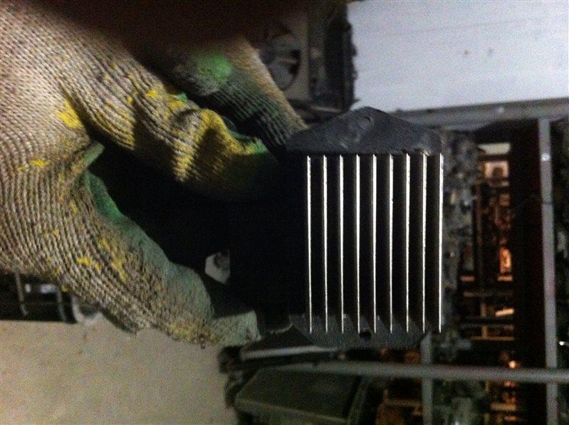 Резистор реостат отопителя печки Lexus Rx330 30