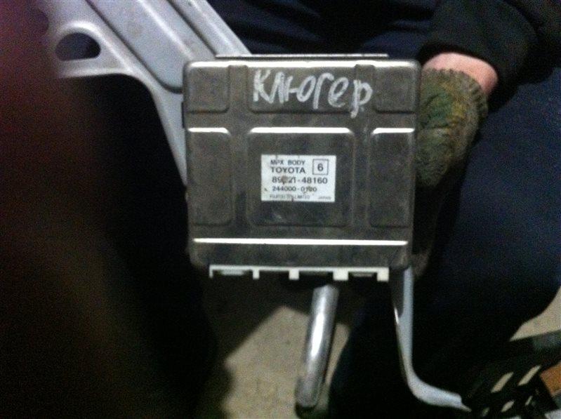 Блок mpx body Toyota Kluger 20