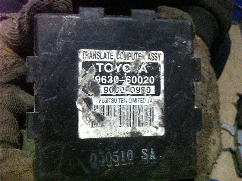 Блок управления полным приводом Lexus Lx470 100