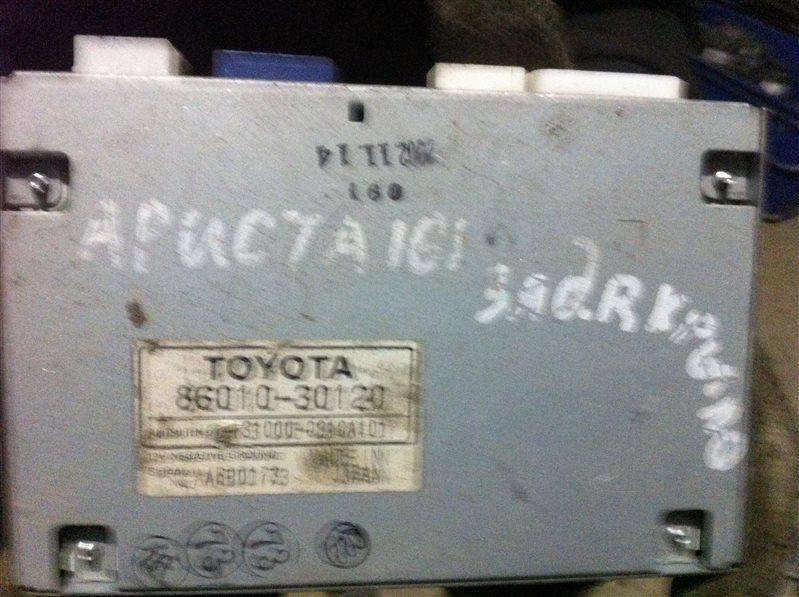 Блок управления мультимедиа Toyota Aristo 161