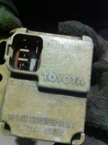 Реле омывателя Toyota