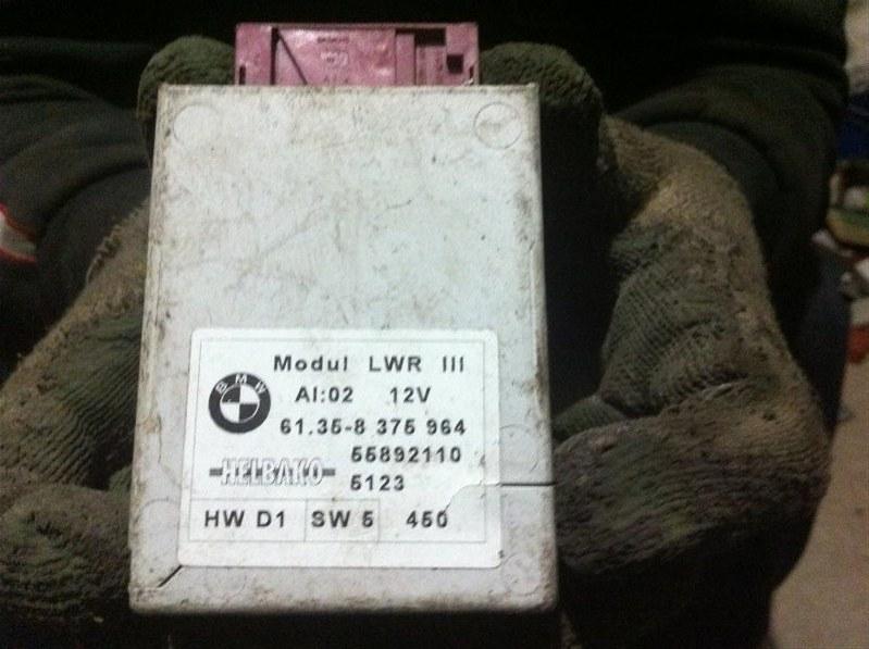 Блок управления светом Bmw X5 53