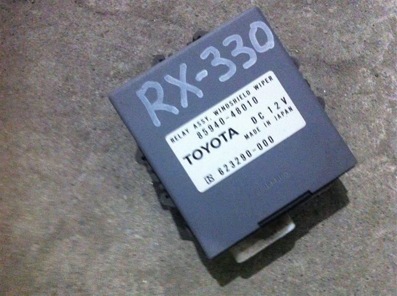 Блок управления стеклоочистителем Lexus Rx330 30