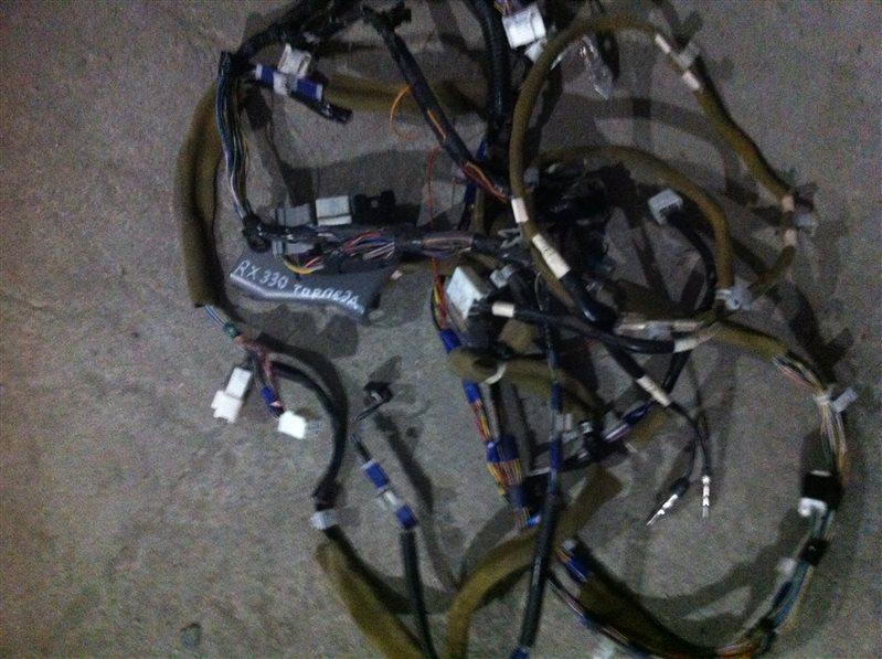 Проводка электрическая Lexus Rx330 30