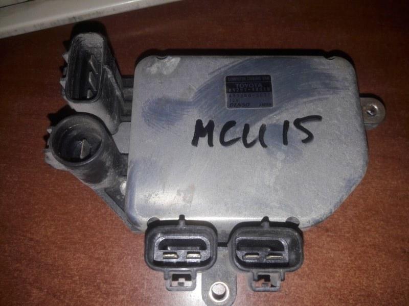 Блок управления вентиляторами Toyota Harrier SXU10, SXU15, MCU15 5SFE,1MZFE 1999