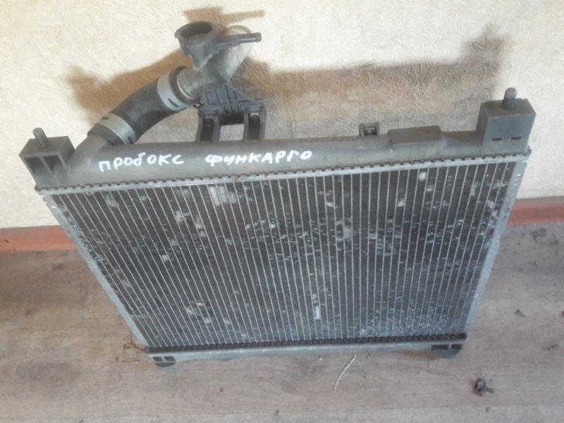 Радиатор двс охлаждения двигателя Toyota Probox NCP55, NCP50, NCP59 1NZFE 2003