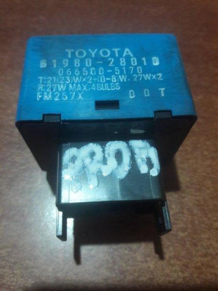 Реле поворота Toyota NCP50, NCP55, NCP59, CR40, SR40, KR50, AZT250, SXU10