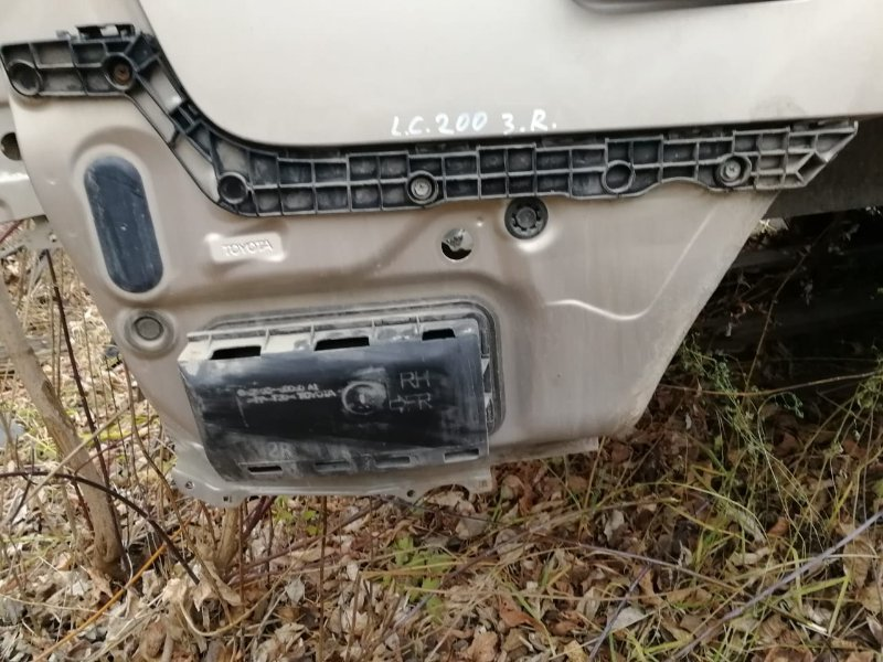 Крепление клипса бампера Toyota Land Cruiser 200 заднее