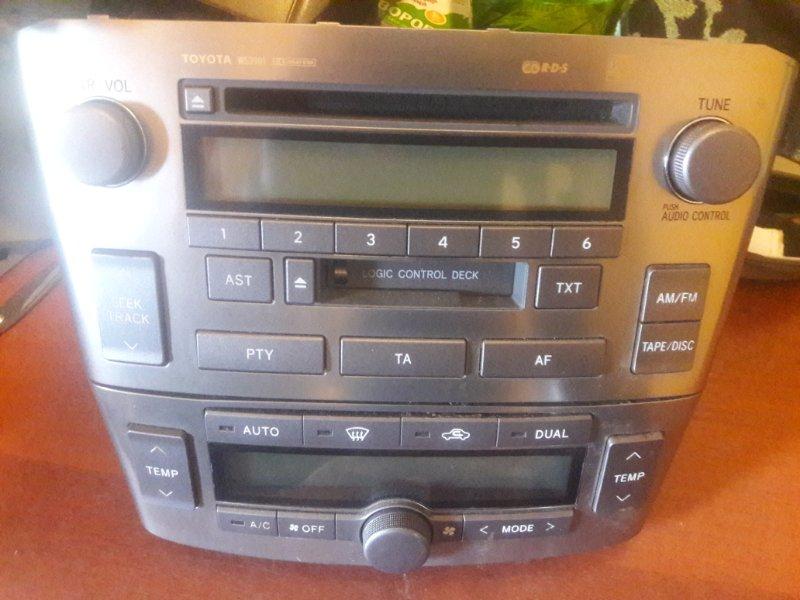 Блок управления климат-контролем Toyota Avensis AZT250 AZT255 1AZFSED4 2003