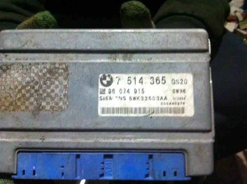 Блок управления акпп Bmw X5 53