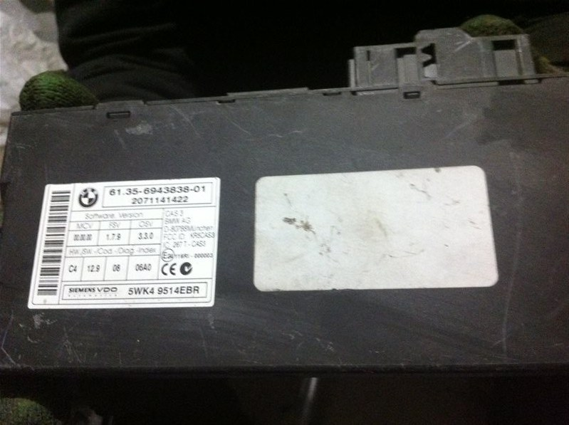 Блок управления Bmw X5 70