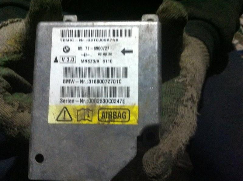 Блок управления airbag Bmw X5 53