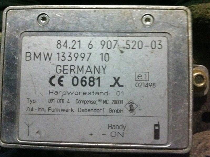 Блок управления антенны Bmw X5 53