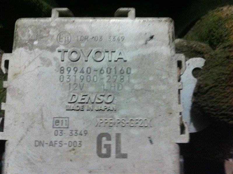 Блок управления корректором фар Lexus Lx570 200