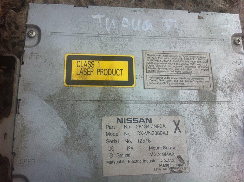 Магнитола Nissan Teana