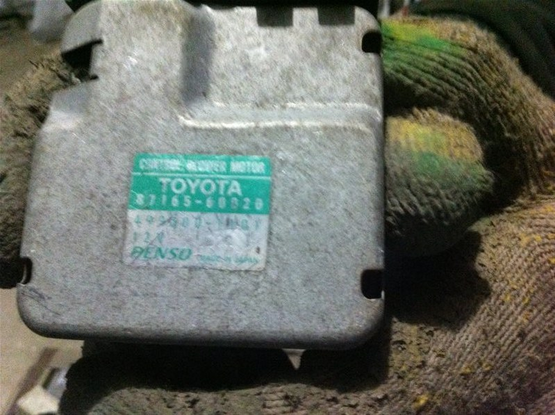 Резистор реостат отопителя печки Lexus Lx470 100