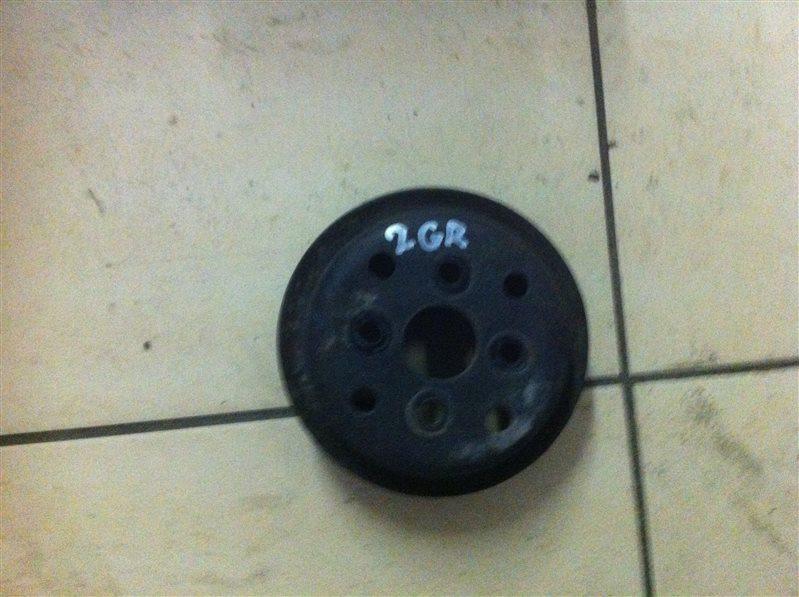 Шкив помпы Toyota 2GR 2014