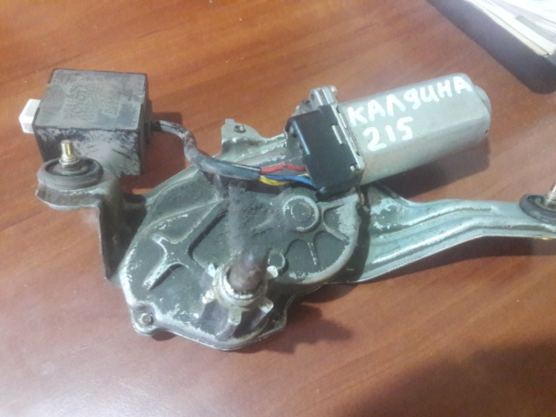 Мотор дворников двигатель стеклоочистителя Toyota Caldina ST215, AT210, ST210, CT216 3SFE, 7AFE, 3CT 2001