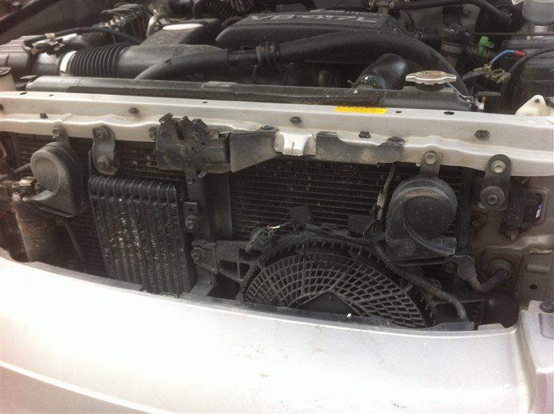 Радиатор двс охлаждения двигателя Toyota Sequoia UCK45 2UZ FE 2005