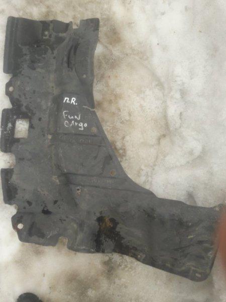 Защита двигателя двс Toyota Funcargo NCP20, NCP21, NCP25 правая