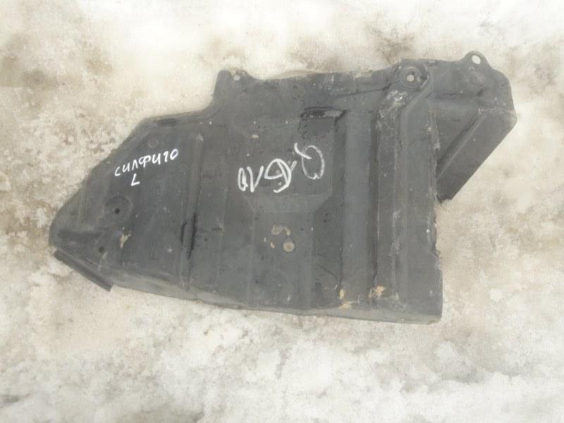 Защита двигателя двс Nissan Bluebird Sylphy FG10 QG15DE 2002 левая