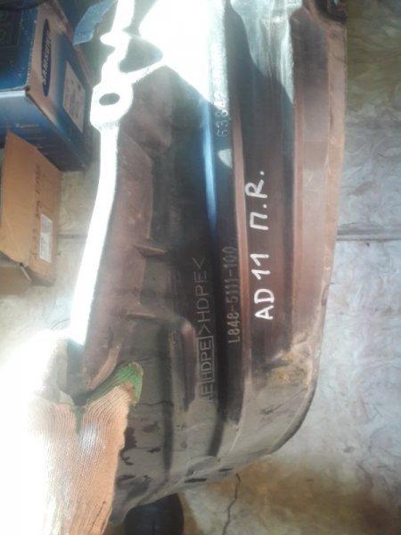 Подкрылок Nissan Ad Y11 QG15DE 2000 передний правый