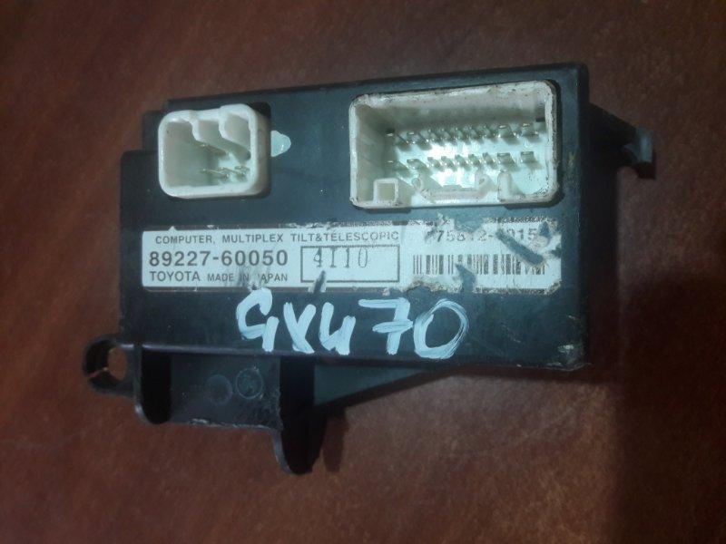 Блок управления рулевой колонкой Lexus Gx470 UZJ120 2UZFE 2004