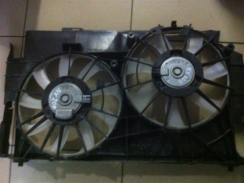 Вентилятор охлаждения радиатора Lexus Nx200 BZ40
