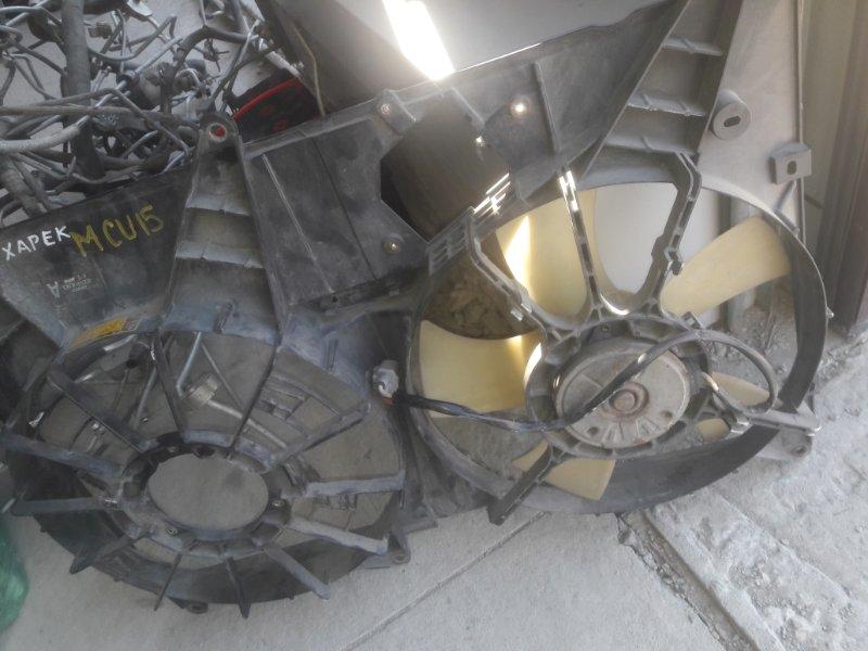 Вентилятор охлаждения радиатора Toyota Harrier SXU10, SXU15 5SFE 1999